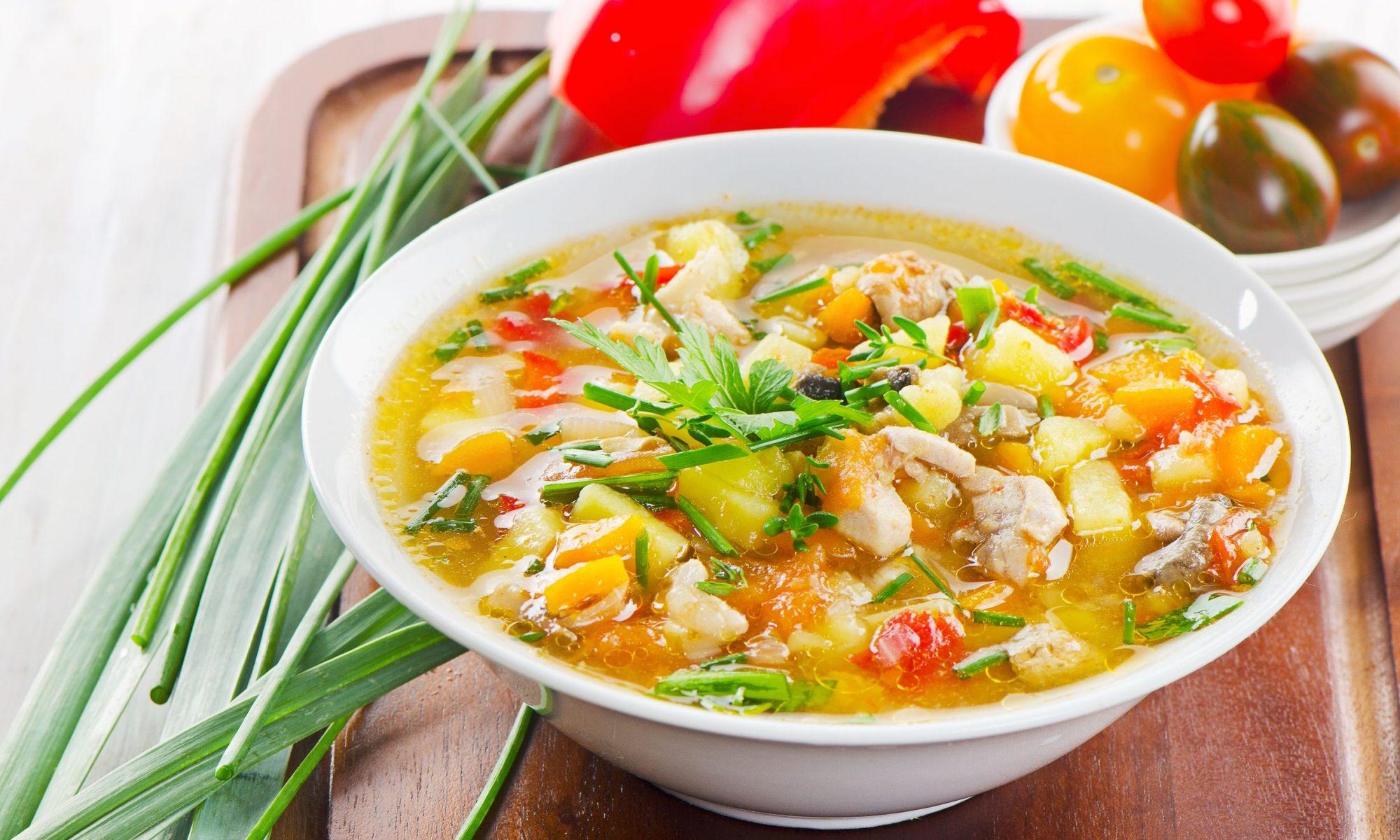 Как сварить куриный суп