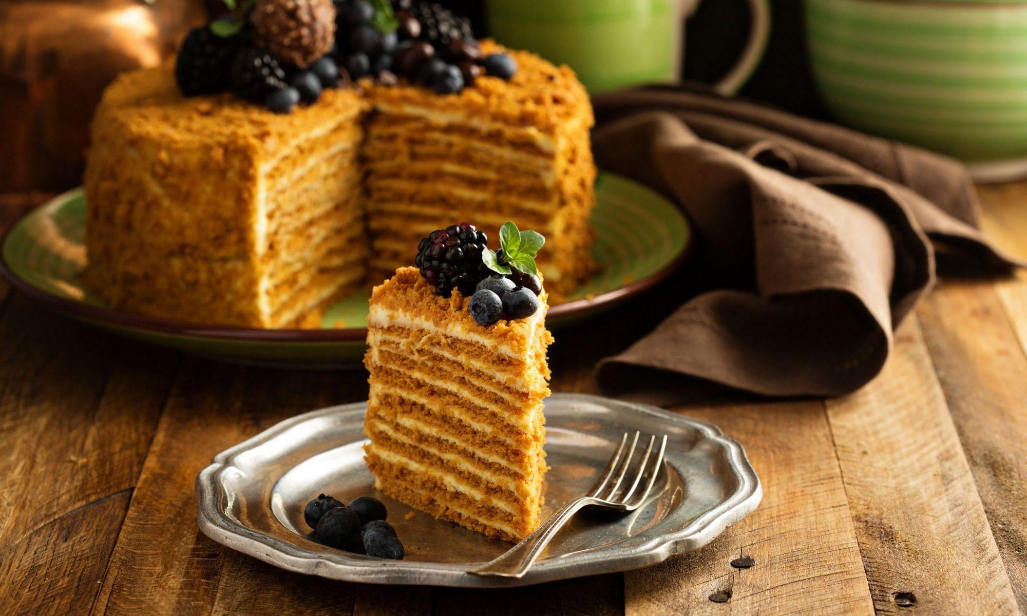 Как готовится Медовый торт: классический рецепт