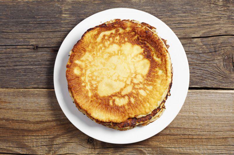 Тонкие картофельные блины: рецепт с фото пошагово