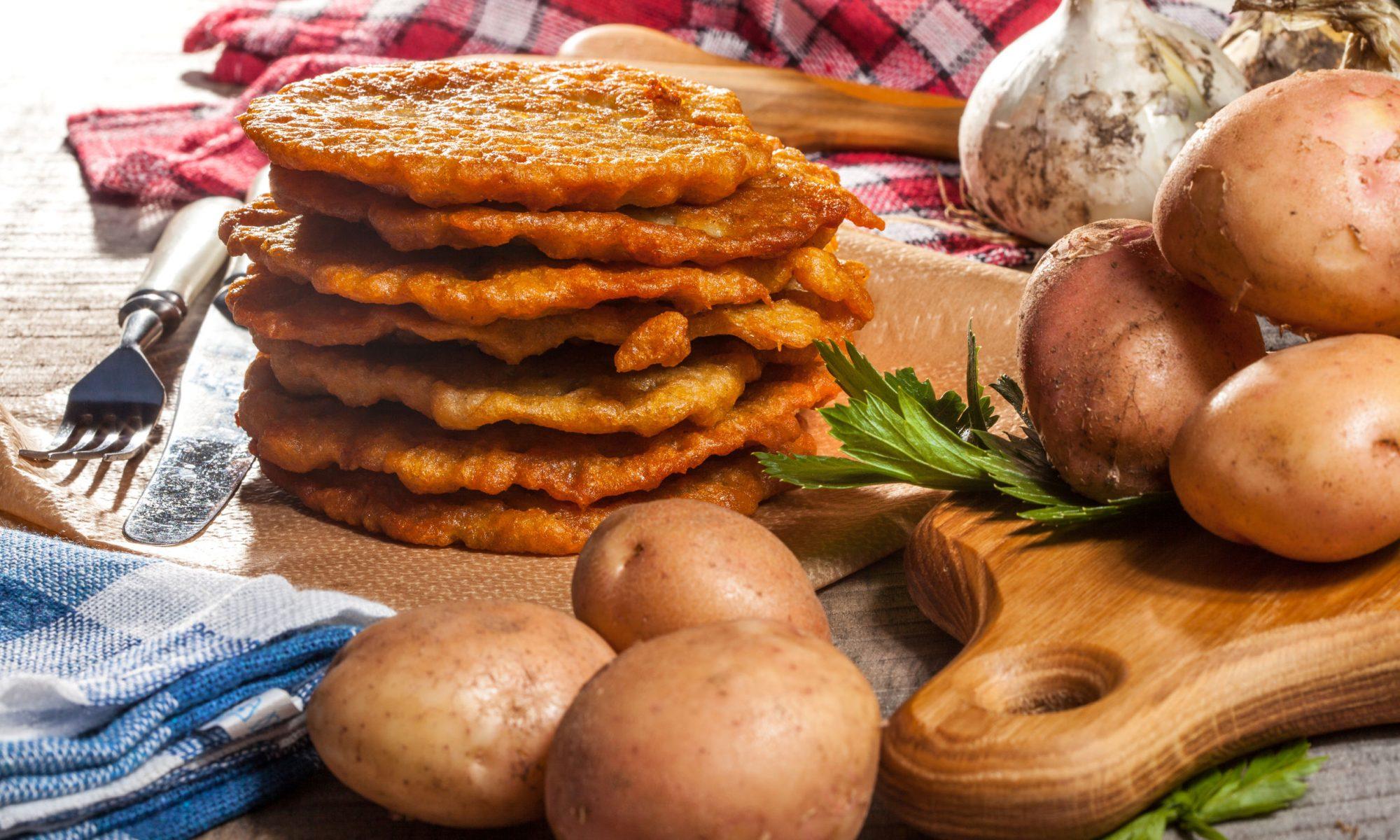 Вкусные рецепты картофельных блинчиков