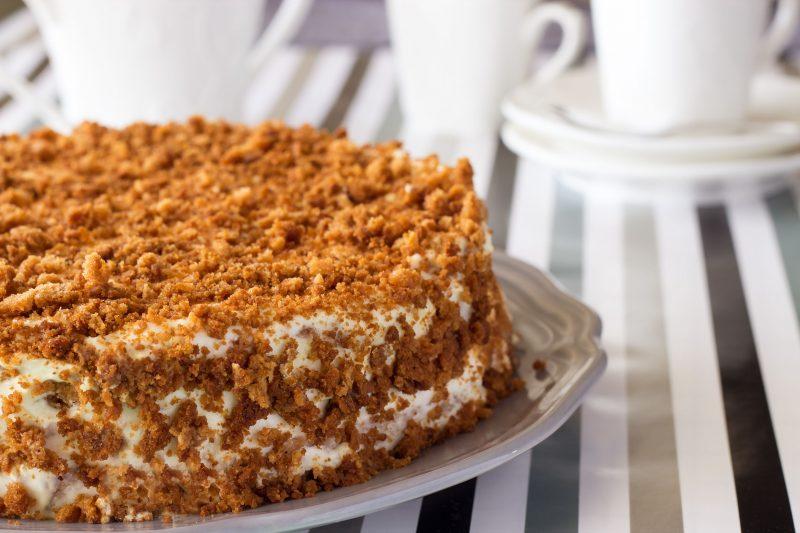 Медовик торт: рецепт классический с фото пошагово