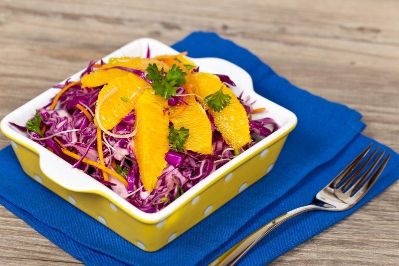 Летний салат в азиатском стиле