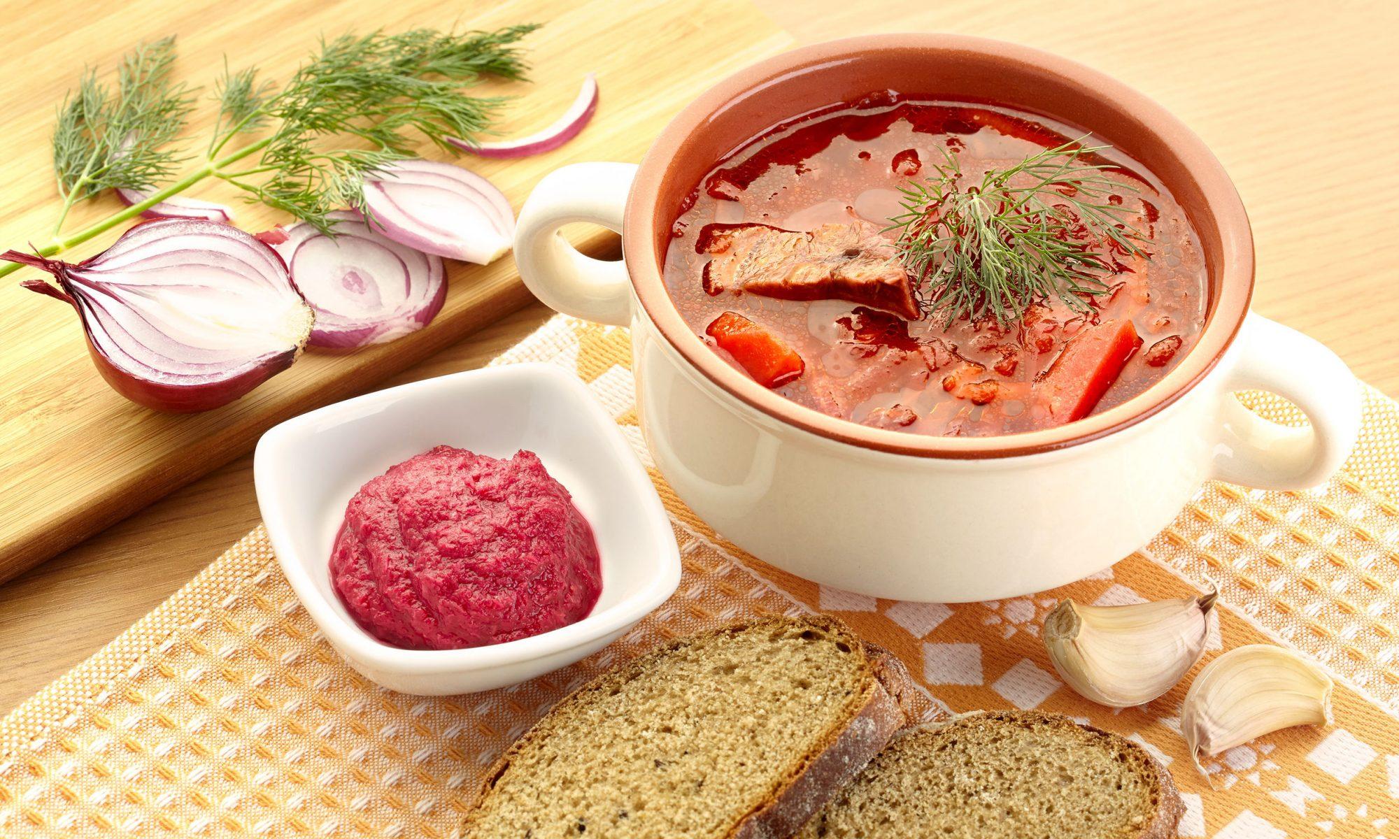 Борщ: рецепт классический с фото