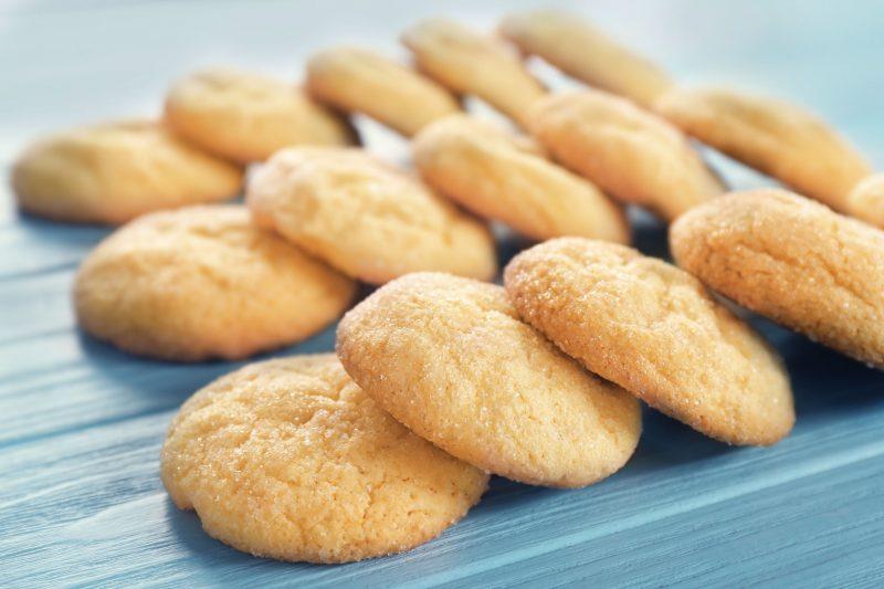 Сливочные печеньки