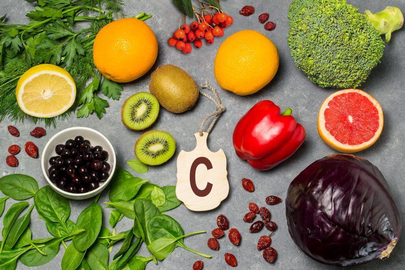 Витамины С и Е