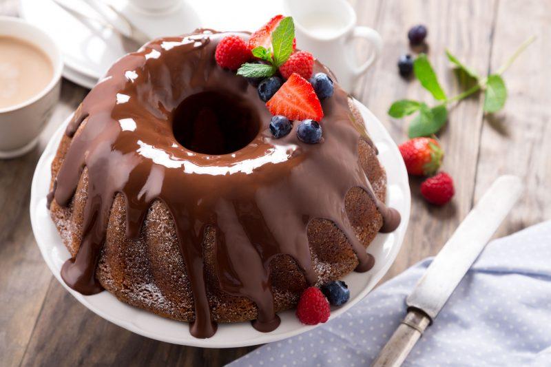 Мандариновый кекс без муки и масла