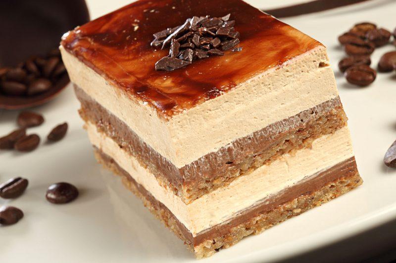 Торт Пломбир с сиропом