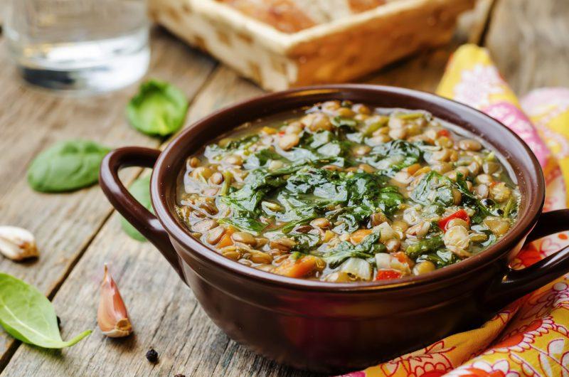 Рецепт «быстрого» фасолевого супа (в мультиварке)