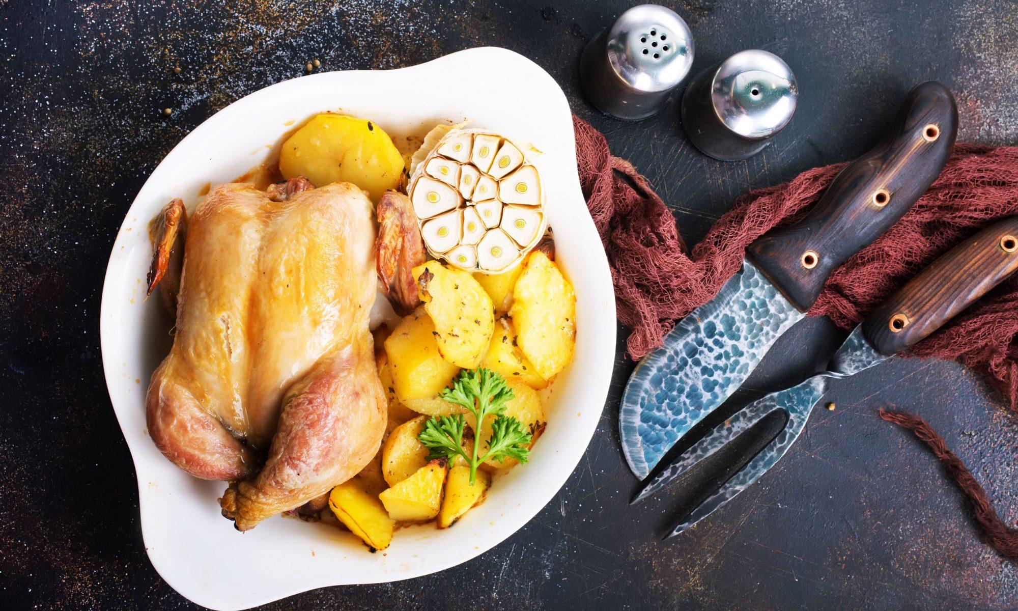 Курица в духовке: рецепты с фото от Шефмаркет