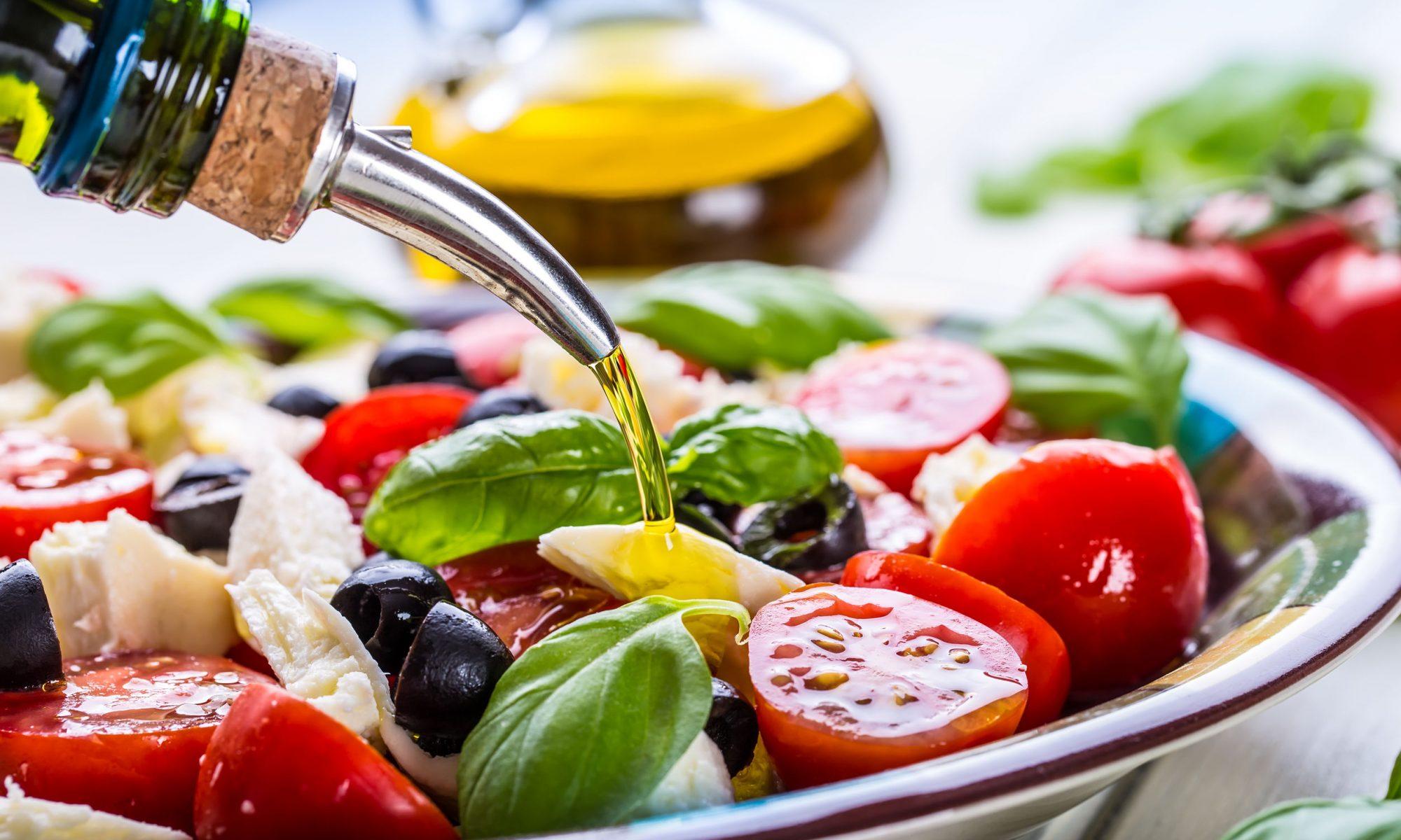 Вегетарианские салаты рецепты