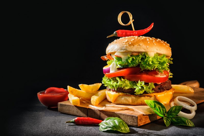 Пикантные сальса бургеры