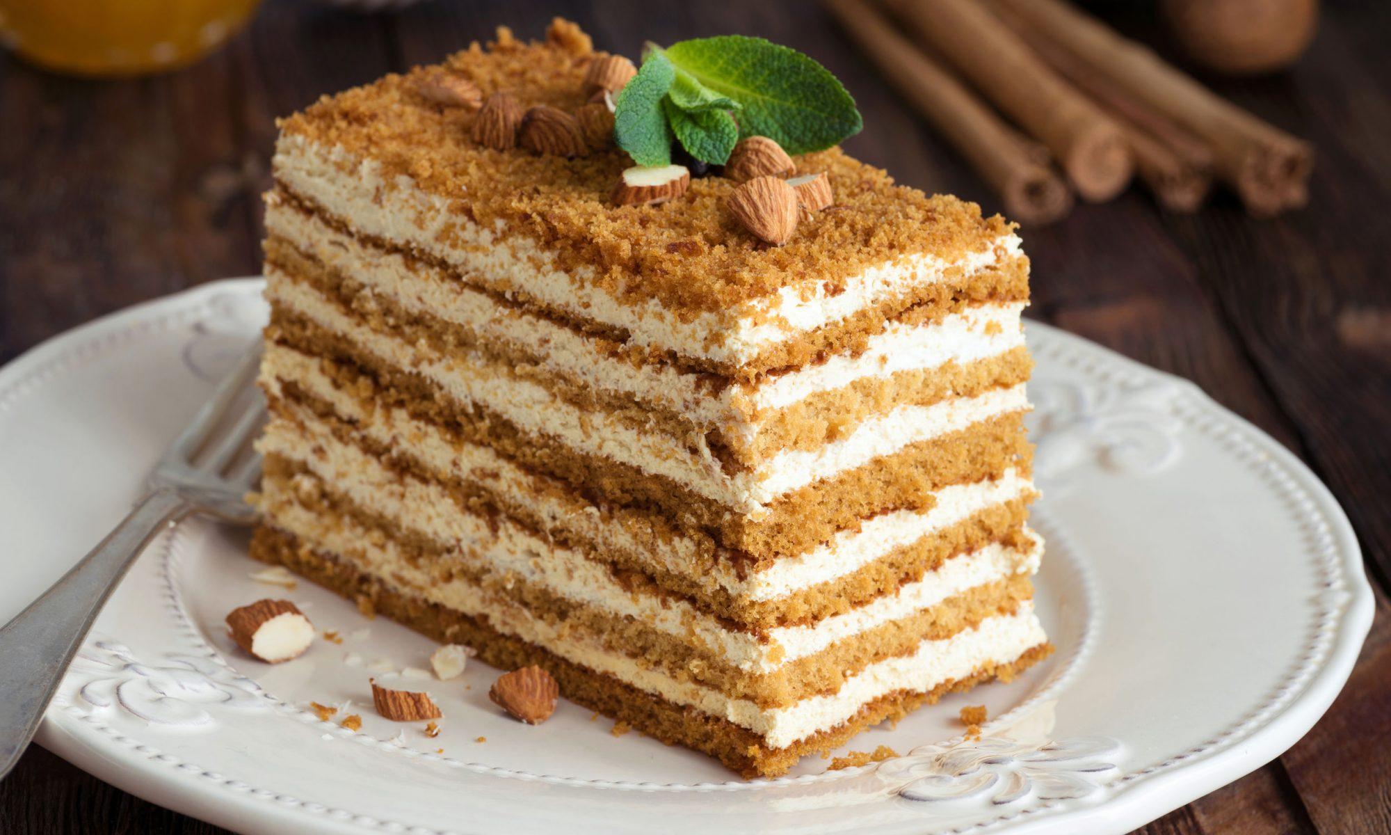 Медовик торт рецепт классический с фото пошагово
