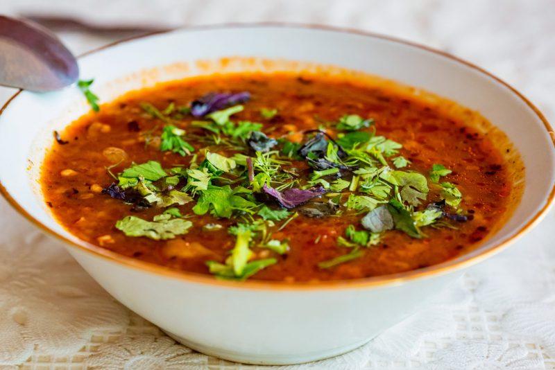 Традиционный рецепт супа харчо