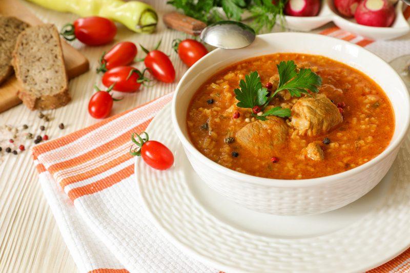Суп харчо из курицы с картошкой
