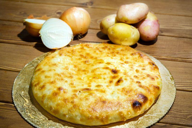 Осетинские пироги с картофелем