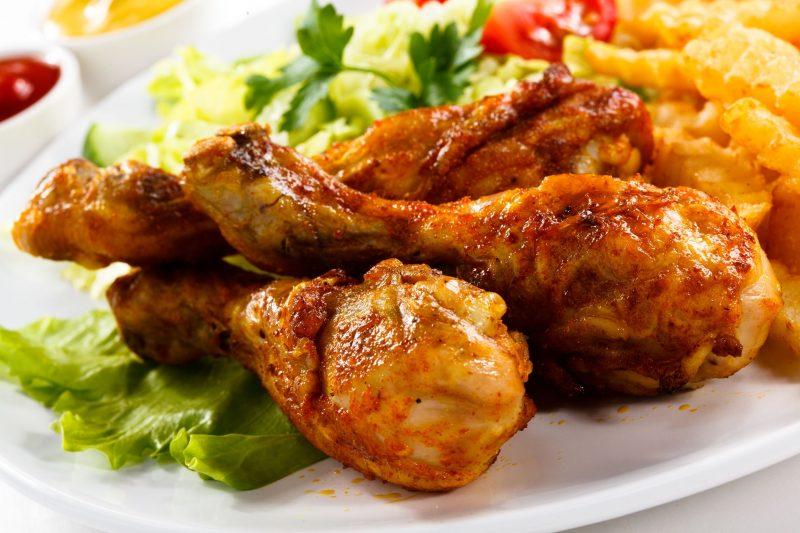 Простые и потрясающие куриные голени