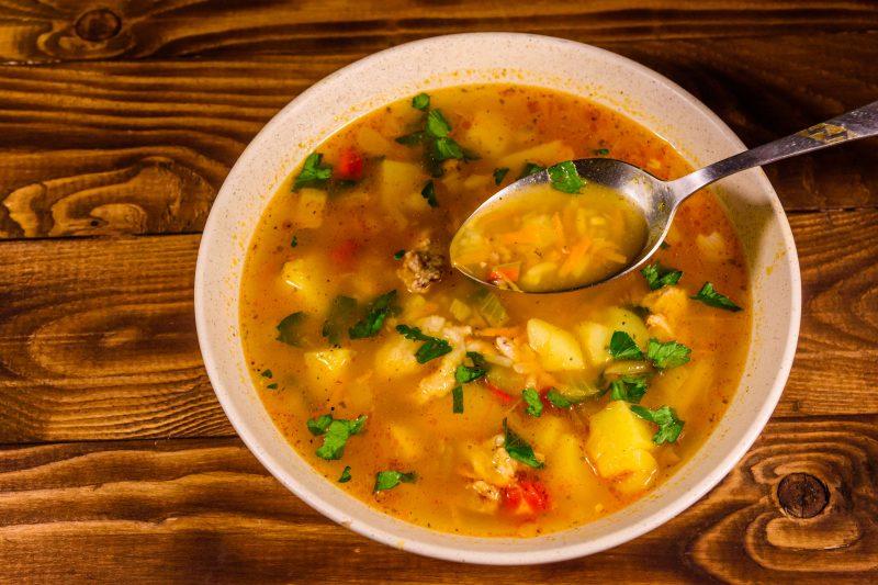 Рецепт супа харчо с томатами