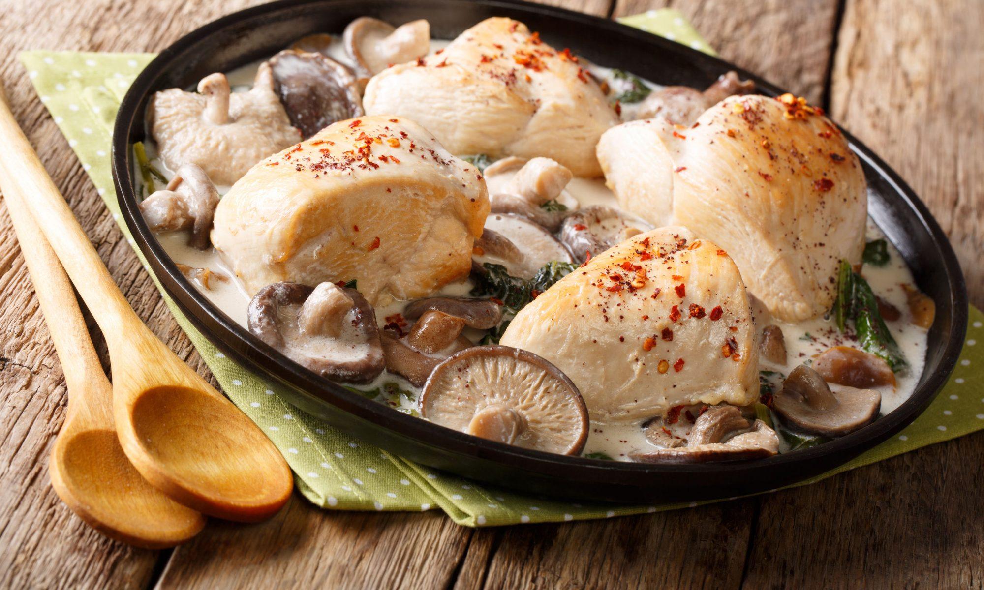 Куриное филе в сливочном соусе: на сковороде рецепты