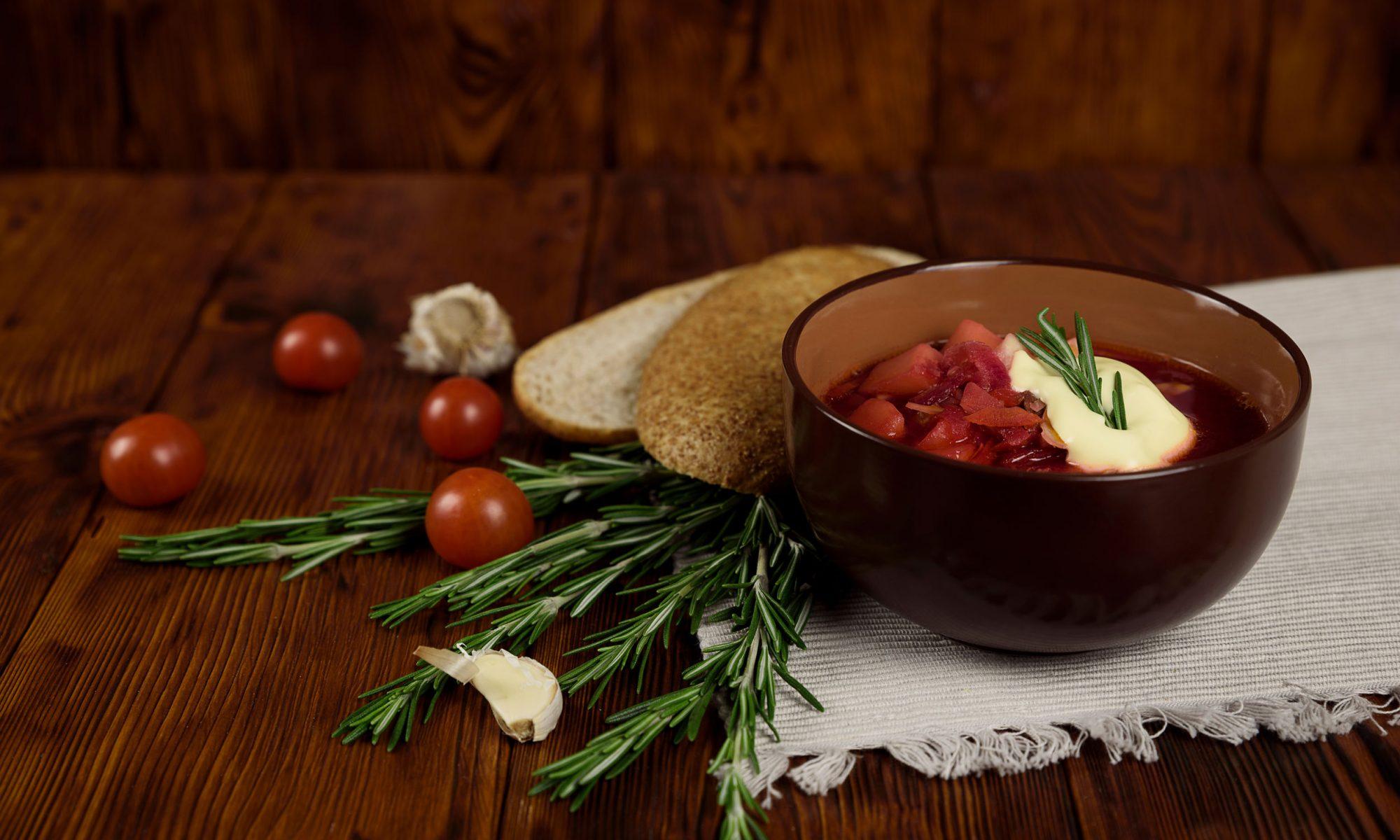 Борщ – витаминный комплекс в вашей тарелке