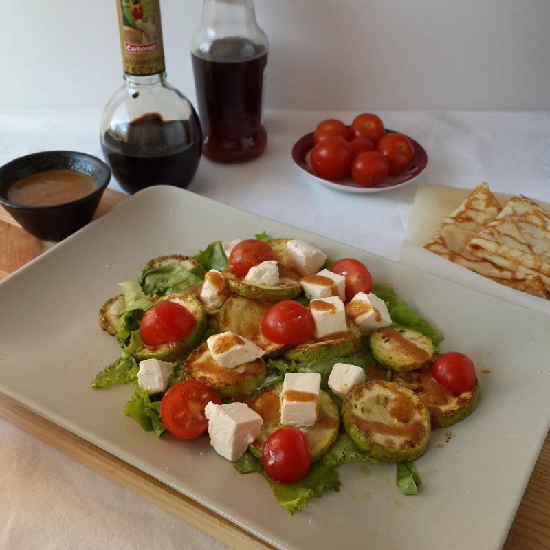«Именинный» теплый салат