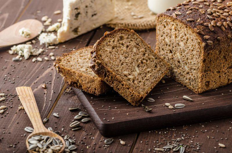 Хлеб ржаной без замешивания