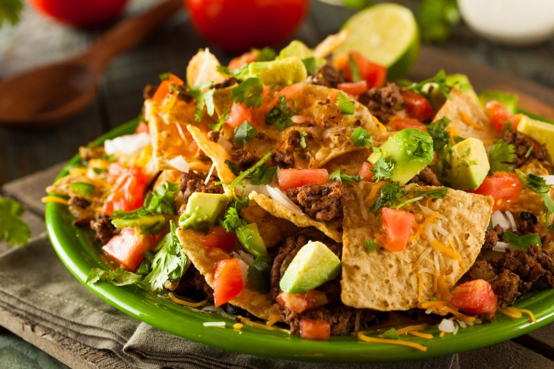 Супер начос – аппетитная закуска в мексиканском стиле