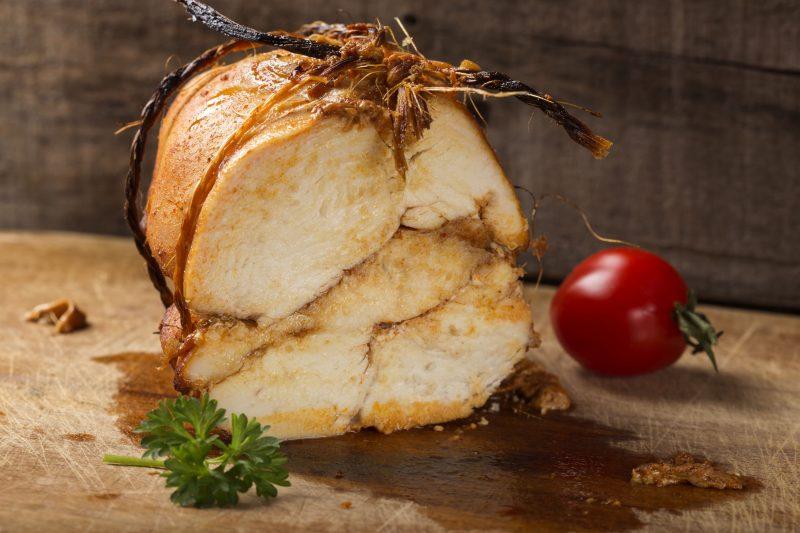 Свинина без запекания в сметане и соевом соусе