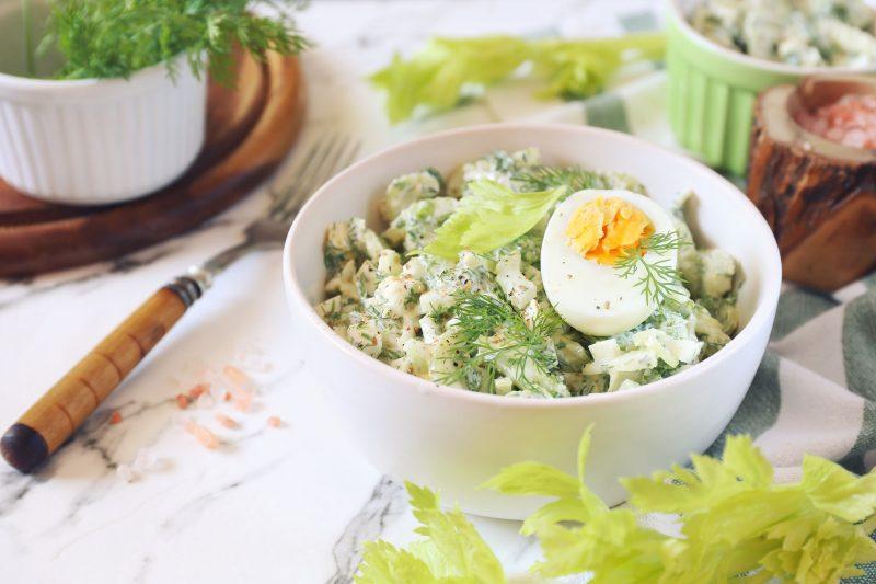 Салат из сельдерея с пармезаном