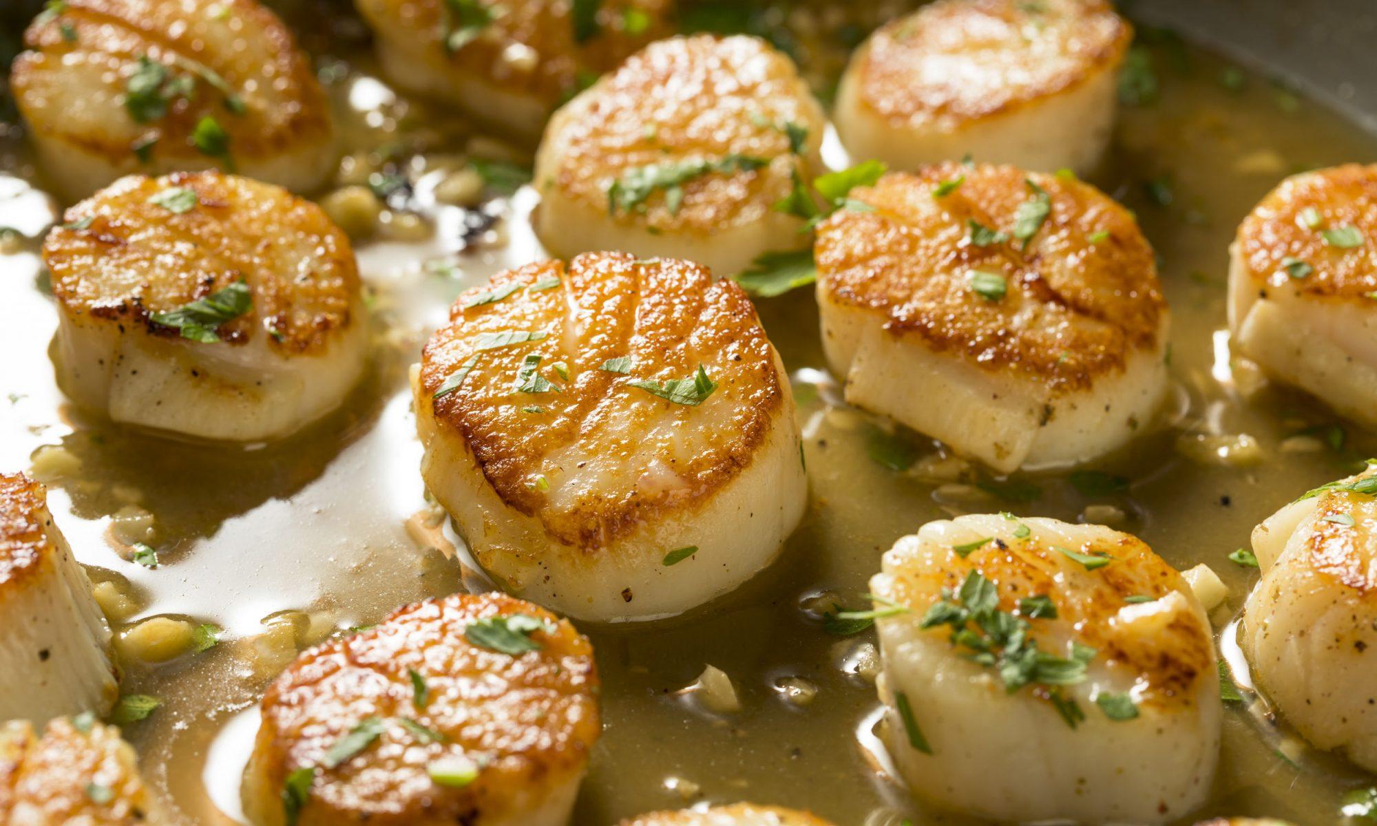 Гребешки в сливочном соусе: рецепты от Шефмаркет