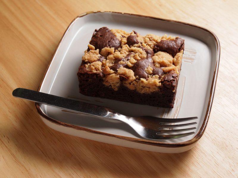 Шоколадная стружка с арахисовым маслом