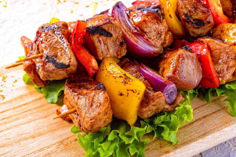 Самый простой рецепт шашлыка из свинины с луком