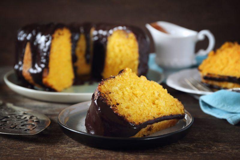 Тыквенно-морковный кекс