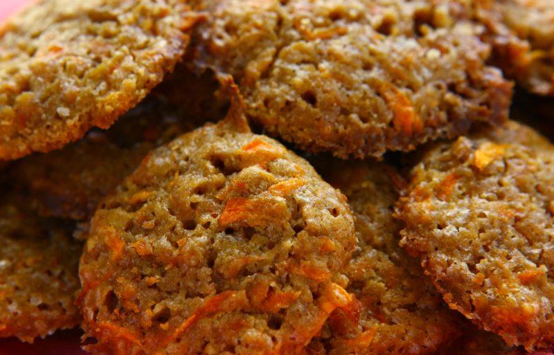 Морковные кексы-сэндвичи