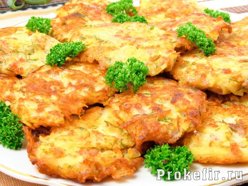 Вкусные драники с ветчиной: рецепт без мука и яиц