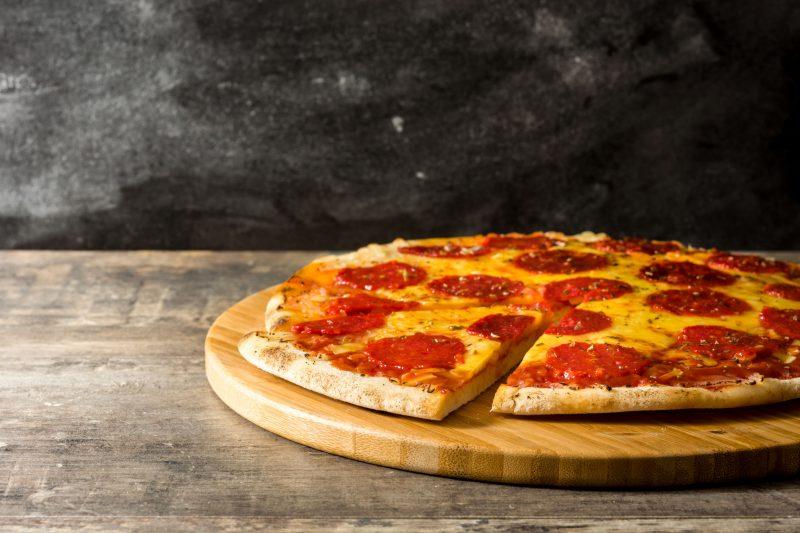 Домашняя Пепперони пицца