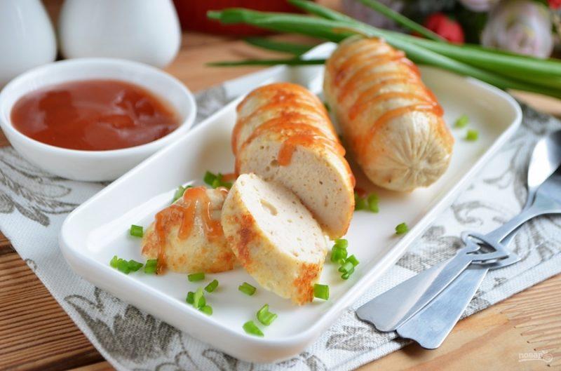 Как приготовить куриные сосиски: рецепт для начинающих