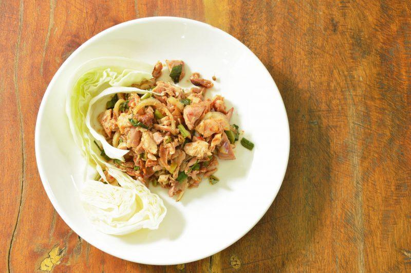Куриный острый салат от Даниэля Булуда