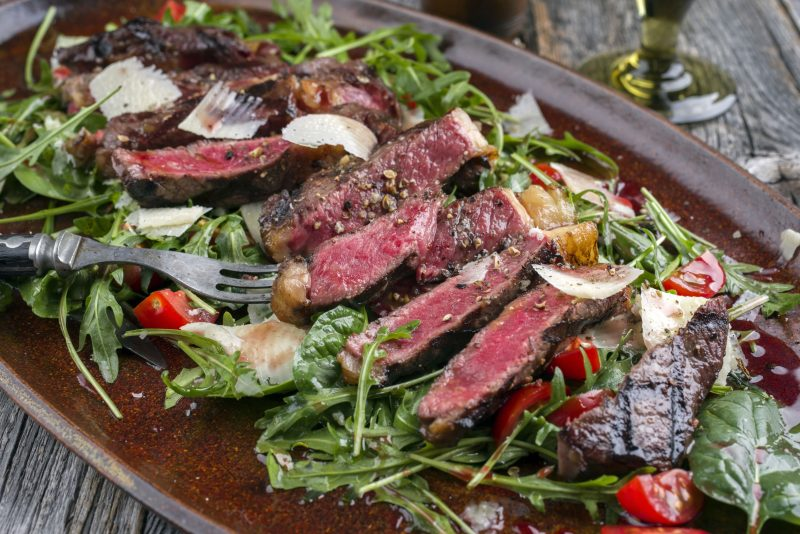 Говяжий салат от Гордона Рамзи