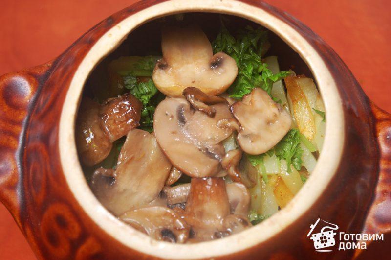 Вкусный рецепт жаркого с грибами
