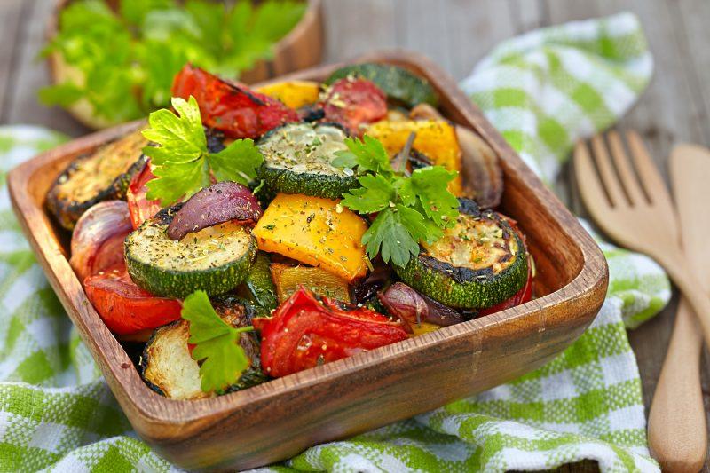 Ароматный рецепт салата с перцем на гриле