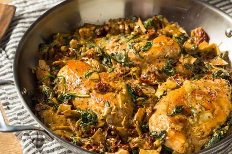 Тосканская паста с курицей