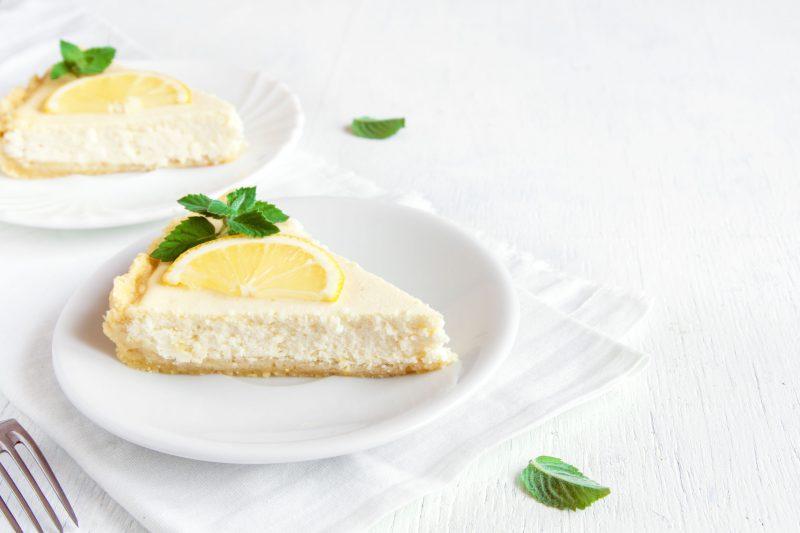 Чизкейк творожно-лимонный