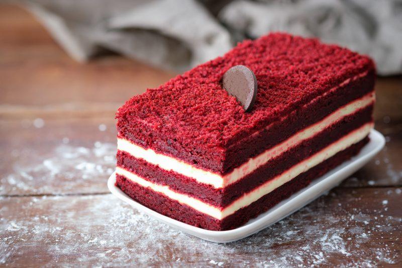 Простой рецепт торта Красный бархат
