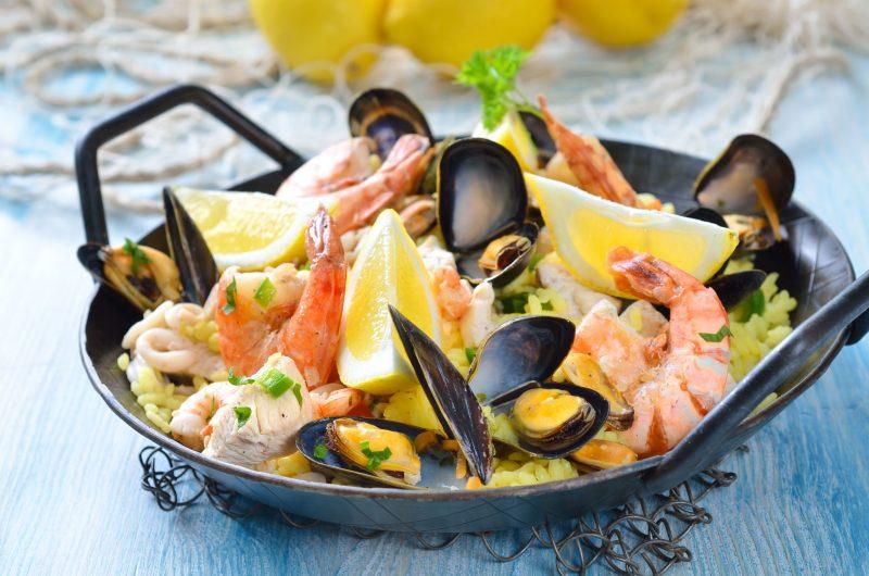 Секреты приготовления паэльи с морепродуктами