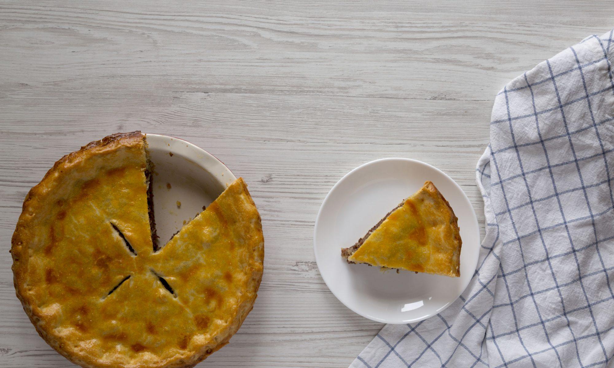 Простые рецепты мясного пирога с картошкой