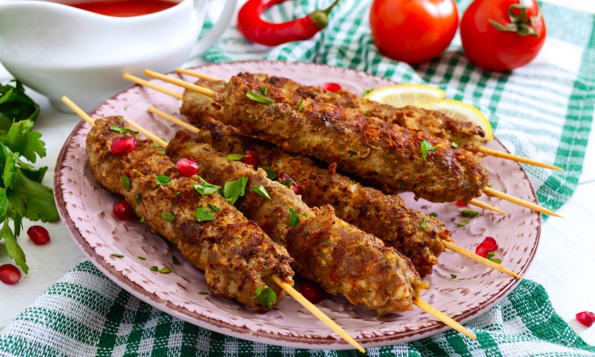 Люля-кебаб из свинины рецепт