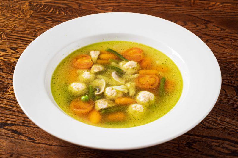 Шведский суп с фрикадельками