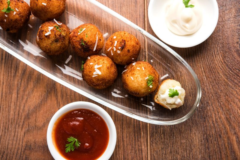 Французский рецепт картофельных крокетов с сыром