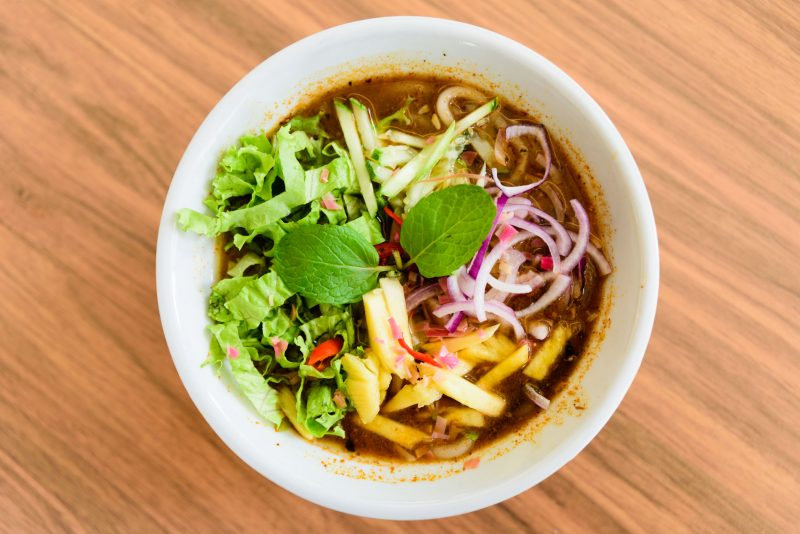 Овощной суп с карри