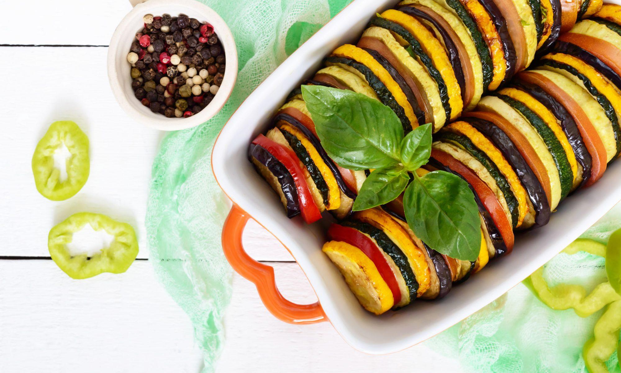 Рататуй: блюдо из сезонных овощей от Шефмаркет
